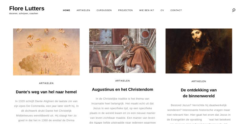 Website: Flore Lutters